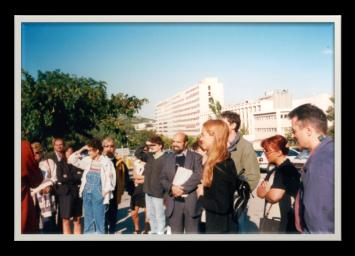 Visit of the construction site of the future Institut de Neurobiologie de la Méditerranée (Inmed), Luminy Campus